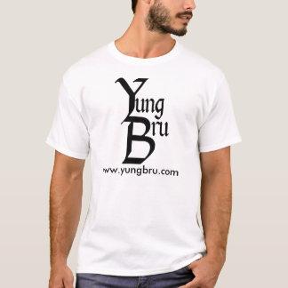 Yung Bru Logo mit Website T-Shirt