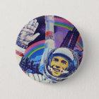 Yuri Gagarin cosmonaute Knopf Runder Button 5,7 Cm