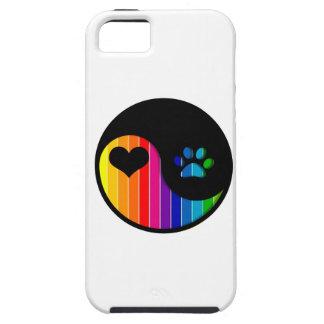 YYP_Dog_RainbowThickStripe iPhone 5 Hülle