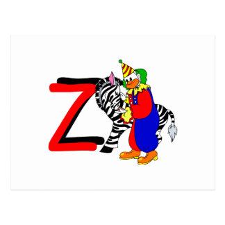 Z-Clown Postkarte