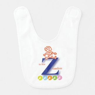 Z ist für Zombie-lustigen Schellfisch durch Babylätzchen