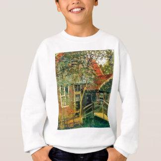 Zaandam, wenig Brücke durch Claude Monet Sweatshirt