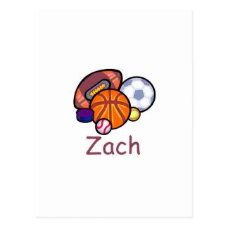 Zach Postkarte