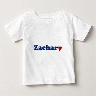 Zachary mit Herzen Baby T-shirt