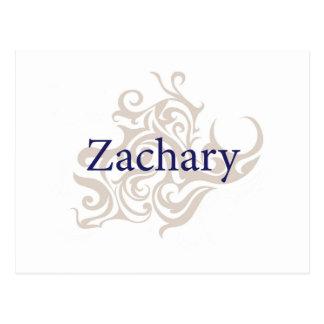 Zachary Postkarte