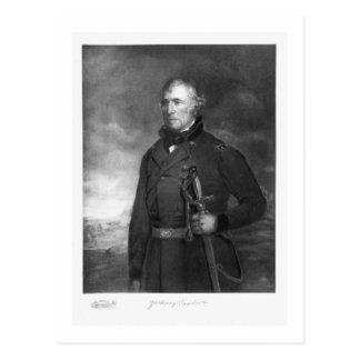 Zachary Taylor, 12. Präsident des vereinigten Postkarte