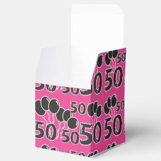 ZACKEN Sie 50. Geburtstags-Gastgeschenk-Kasten - Geschenkschachtel