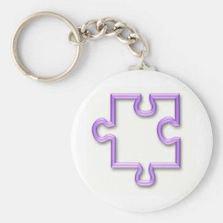 Zackiger Ausschnitt Keychain Schlüsselanhänger