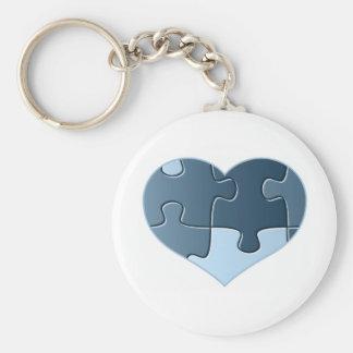 Zackiges Herz Keychain Schlüsselanhänger