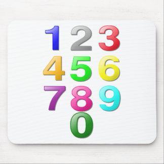 Zahl-Bild Mousepad