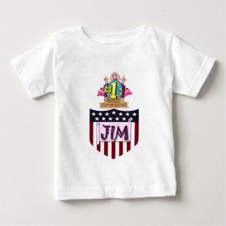Zahl eine Jim Baby T-shirt