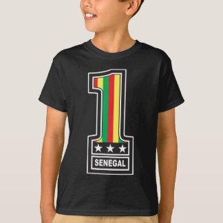 Zahl eine Senegal T-Shirt
