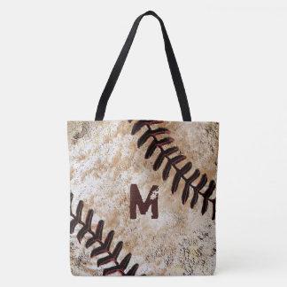 Zahl-oder Monogramm-Baseball-Taschen-Tasche Tasche