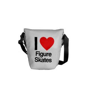 Zahl Skate der Liebe I Kurier Taschen