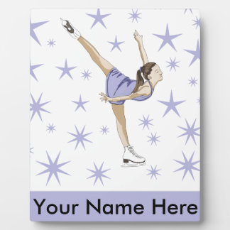 Zahl Skaten-Geschenkartikel Fotoplatte