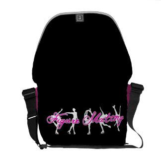 Zahl Skaten-heißes Rosa-Tasche Kurier Taschen