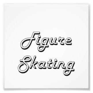 Zahl Skaten-klassischer Retro Entwurf Foto