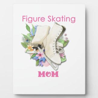Zahl Skaten-Mamma-Geschenk zacken gut aus Fotoplatte