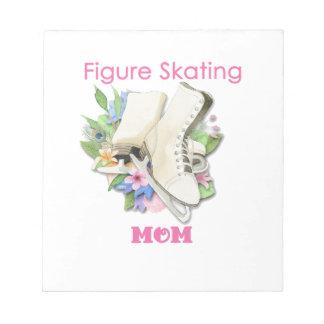 Zahl Skaten-Mamma-Geschenk zacken gut aus Notizblock