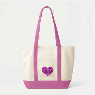 Zahl Skaten MAMMA Taschen-Tasche (Rosa/Lila) Impulse Stoffbeutel