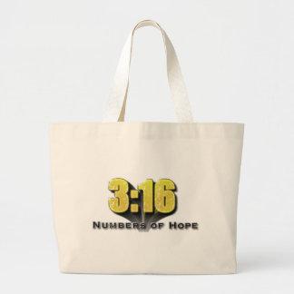 Zahlen des Hoffnungs-3:16 Einkaufstasche