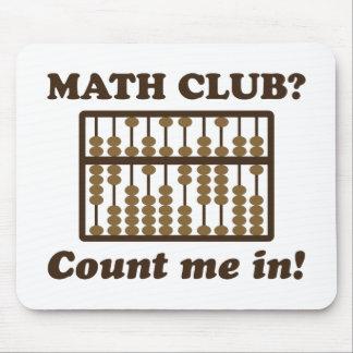 Zählen Sie mich im Mathe-Verein Mousepad