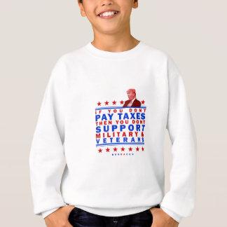 Zahlen von Steuern Sweatshirt