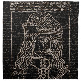 Zählung Vlad Dracula Serviette
