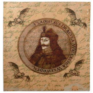 Zählung Vlad Dracula Stoffserviette