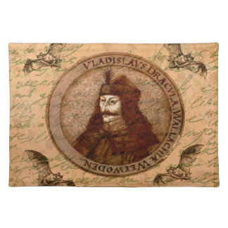 Zählung Vlad Dracula Stofftischset