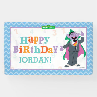 Zählung von Count Birthday des Sesame Street-| Banner