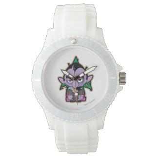 Zählung von Count Zombie Armbanduhr