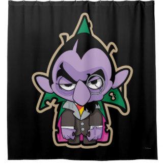 Zählung von Count Zombie Duschvorhang
