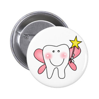 Zahn-Fee-T-Shirts und Geschenke Runder Button 5,1 Cm