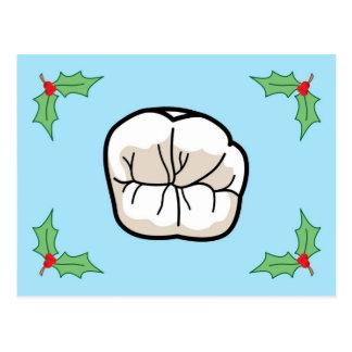 Zahn-Feiertags-Karte Postkarte