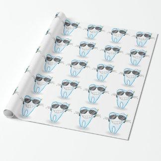 Zahn Geschenkpapier