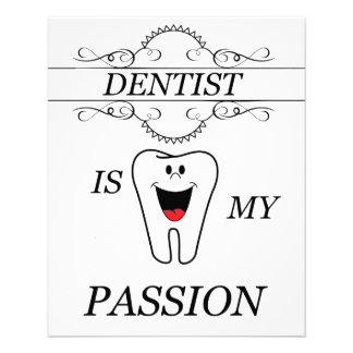 Zahnarzt 11,4 X 14,2 Cm Flyer