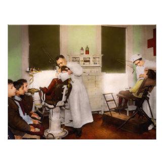 Zahnarzt - Behandlung sie wie Kinder 1922 Flyer
