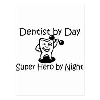 Zahnarzt durch TagSuup Held bis zum Nacht Postkarte