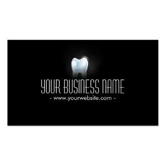 Zahnarzt-Geschäfts-Karte des beruflichen Zahn-3D Visitenkartenvorlage