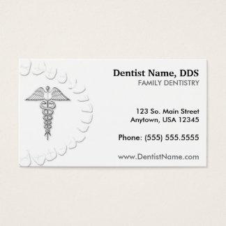 Zahnarzt-Geschäfts-/Verabredungs-Karte Visitenkarte