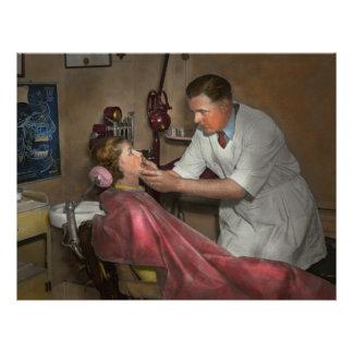 Zahnarzt - Herstellung eines Eindruckes 21,6 X 27,9 Cm Flyer