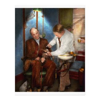 Zahnarzt - krummer Tour 1924 21,6 X 27,9 Cm Flyer