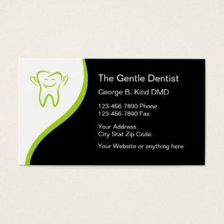 Zahnarzt-moderne Visitenkarten
