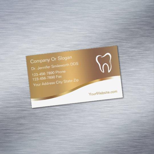 Zahnarzt Visitenkarte Magneten Magnetische Visitenkarte