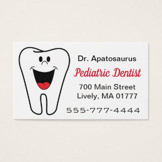 Zahnarzt-Visitenkarte Visitenkarte
