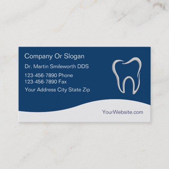 Zahnarzt Visitenkarten Visitenkarte Zazzle De