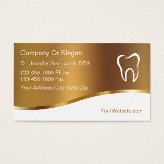 Zahnarzt-Visitenkarten Visitenkarte