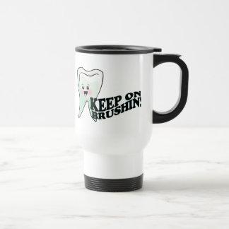 Zahnarzt-Zahnarzthelfer-Spaß Reisebecher