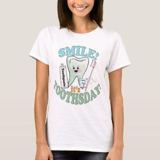 Zahnarzt-Zahnarzthelfer T-Shirt